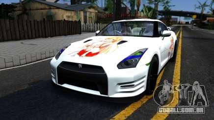 Nissan GT-R R35 - Sword Art Online para GTA San Andreas