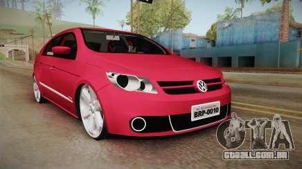 Volkswagen Voyage Fix para GTA San Andreas