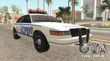 GTA 4 Police Stanier para GTA San Andreas