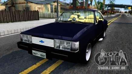 Chevrolet Opala 87 Diplomat Coupe para GTA San Andreas