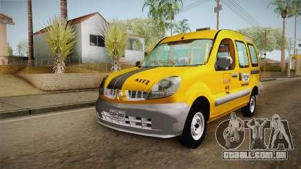 Renault Kangoo Taxi Colombiano para GTA San Andreas