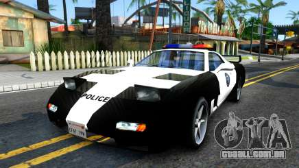ZR-350 SFPD Police Pursuit Car para GTA San Andreas
