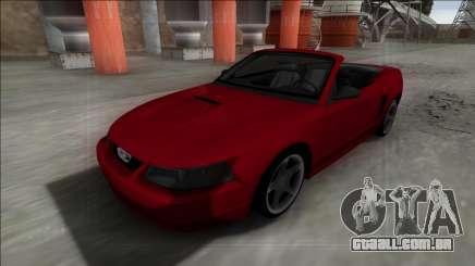 1999 Ford Mustang Cabrio para GTA San Andreas