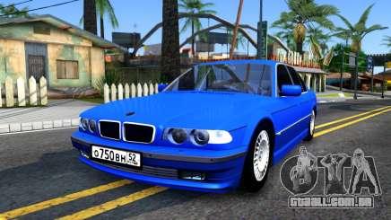 BMW 750iL E38 2001 para GTA San Andreas
