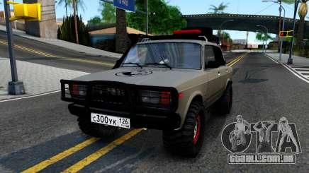 2107 4X4 para GTA San Andreas