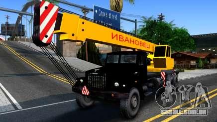KrAZ-257 Caminhão Guindaste para GTA San Andreas