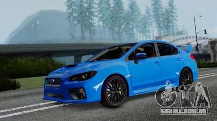 Subaru WRX STi 2017 para GTA San Andreas