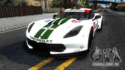 Chevrolet Corvette C7R GTE 2014 para GTA San Andreas