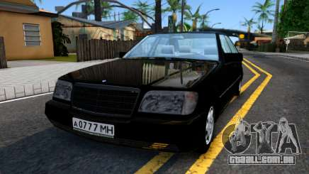 "Mercedes-Benz W140 S600 From ""Brigada"" para GTA San Andreas"