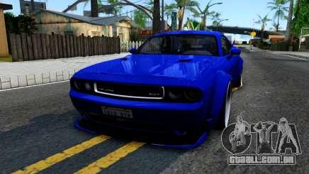 Dodge Challenger SRT8 Liberty Walk para GTA San Andreas