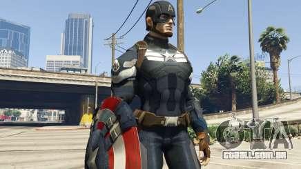 Captain America Shield Throwing Mod para GTA 5