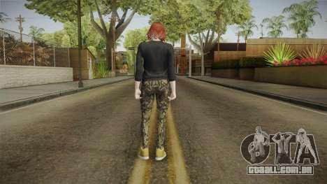 GTA Online: Skin Female 2 para GTA San Andreas terceira tela