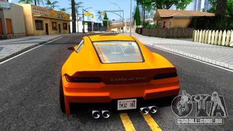 Invetero Coquette GTA V ImVehFt para GTA San Andreas