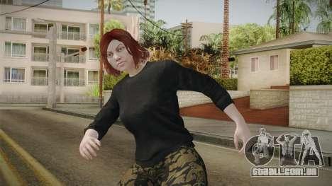 GTA Online: Skin Female 2 para GTA San Andreas