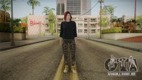 GTA Online: Skin Female 2 para GTA San Andreas segunda tela