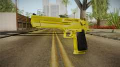 Gold Desert Eagle