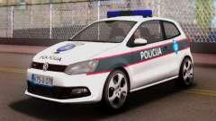 Volkswagen Polo GTI BIH Police Car para GTA San Andreas