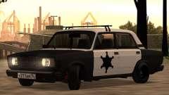 Xerife CAÇADOR 2107 para GTA San Andreas
