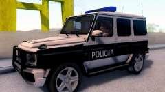 A Mercedes-Benz G65 AMG BIH Carro de Polícia