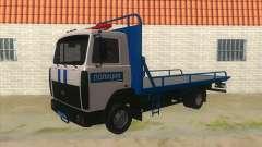 MAZ caminhão de Reboque Polícia