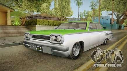 GTA 5 Declasse Voodoo 4-door IVF para GTA San Andreas