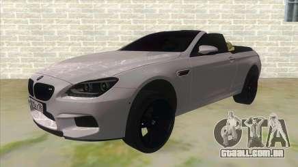 BMW M6 F13 Cabrio para GTA San Andreas