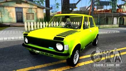 Fiat 128 amarelo para GTA San Andreas