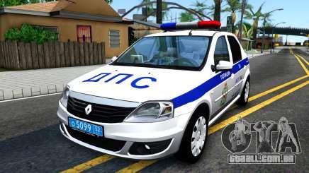 Renault Logan Russian Police para GTA San Andreas