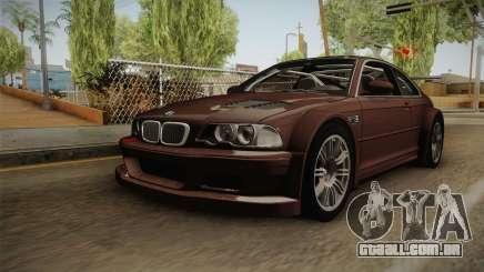 BMW M3 E46 2005 NFS: MW Livery para GTA San Andreas
