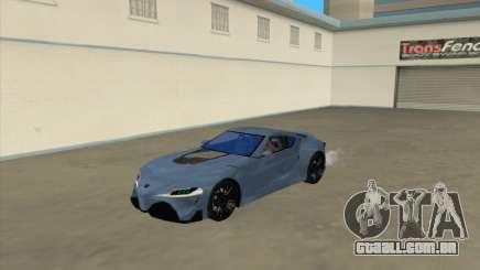 Toyota Supra FT1 Concept 2014 para GTA San Andreas