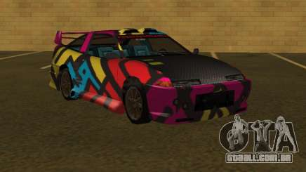 URANUS MFR 4th paintjob para GTA San Andreas