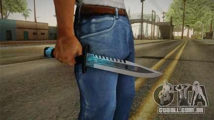 M9 Bayonet BlueSparks para GTA San Andreas