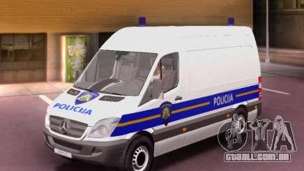 Mercedes-Benz Sprinter Croatian Police Van para GTA San Andreas