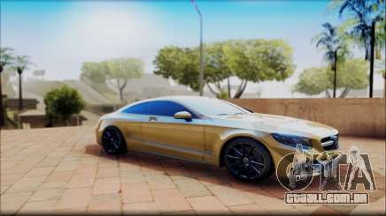 Mercedes-Benz S63 Coupe GOLD para GTA San Andreas