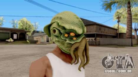 A Máscara De Cthulhu para GTA San Andreas segunda tela