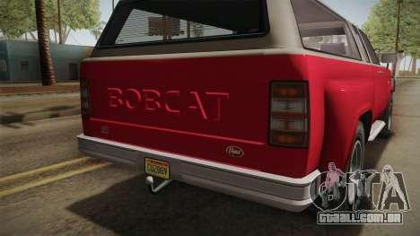 GTA 5 Vapid Bobcat XL IVF para GTA San Andreas