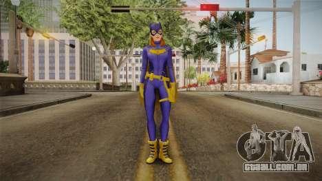 DC Legends - Batgirl para GTA San Andreas segunda tela