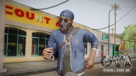 Watch Dogs 2 - Marcus v1.1 para GTA San Andreas