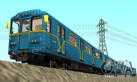 Metrostav tipo Comer Kiev para GTA San Andreas