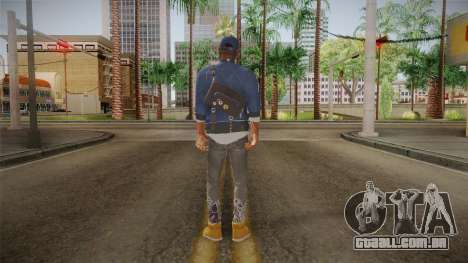Watch Dogs 2 - Marcus v1.1 para GTA San Andreas terceira tela