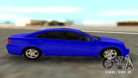 Mitsubishi Galant para GTA San Andreas traseira esquerda vista