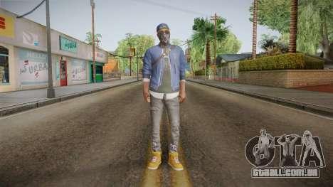 Watch Dogs 2 - Marcus v1.1 para GTA San Andreas segunda tela