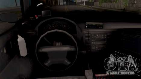 Bravado Buffalo Hometown PD 2009 para GTA San Andreas