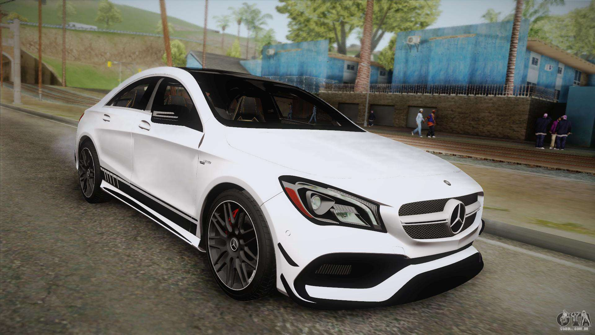 mercedes benz cla45 amg 2017 para gta san andreas. Black Bedroom Furniture Sets. Home Design Ideas