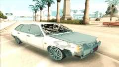 2109 branco para GTA San Andreas