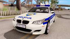 BMW M5 E60 Croatian Police Car