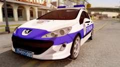 Peugeot 308 Policija