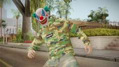 Skin GTA Online Clown Camouflaged para GTA San Andreas