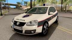 Volkswagen Golf V BIH Police Car V2 para GTA San Andreas