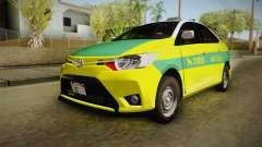 Toyota Vios Sturdy Philippine Taxi 2014